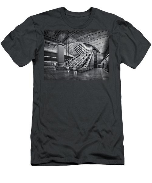 Beneath The Surface Of Reality Men's T-Shirt (Slim Fit) by Evelina Kremsdorf