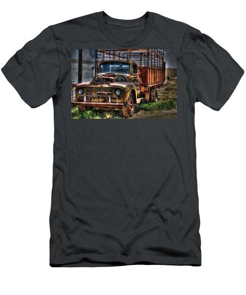 Benjamin Texas Truck Men's T-Shirt (Athletic Fit)