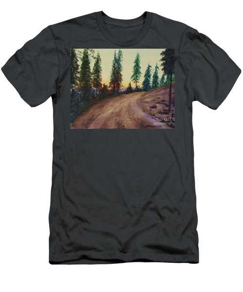 Bergebo Forest Men's T-Shirt (Slim Fit) by Martin Howard