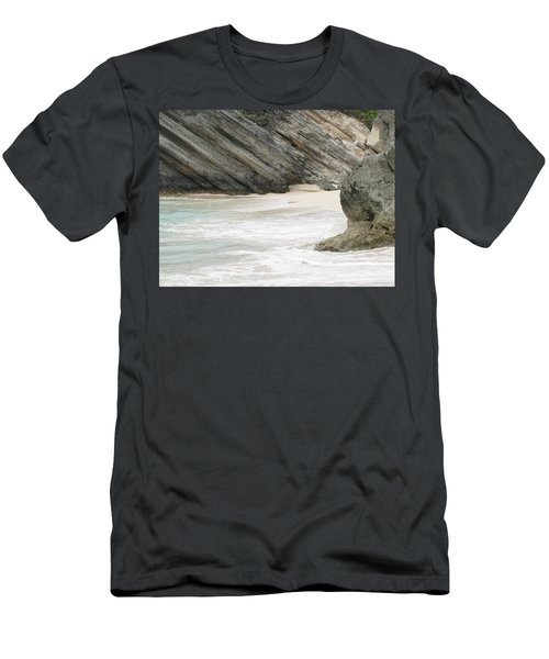 Bermuda Beach Men's T-Shirt (Athletic Fit)