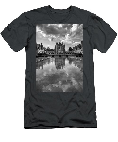 Men's T-Shirt (Slim Fit) featuring the photograph Berry University by Rebecca Hiatt