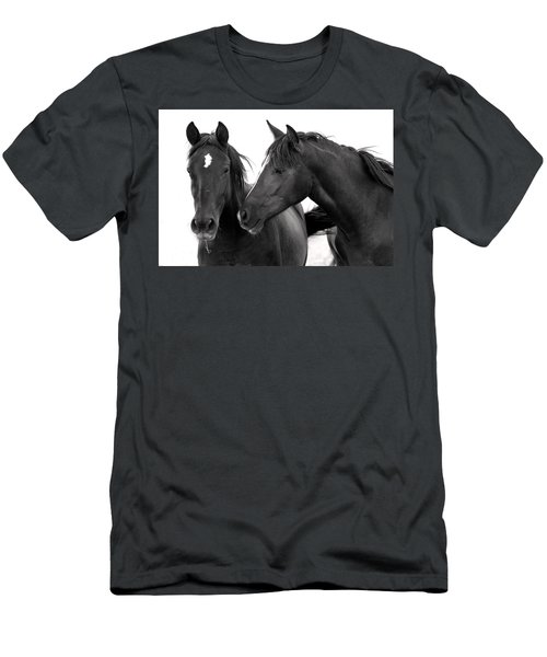 Best Buds Wild Mustang Men's T-Shirt (Athletic Fit)