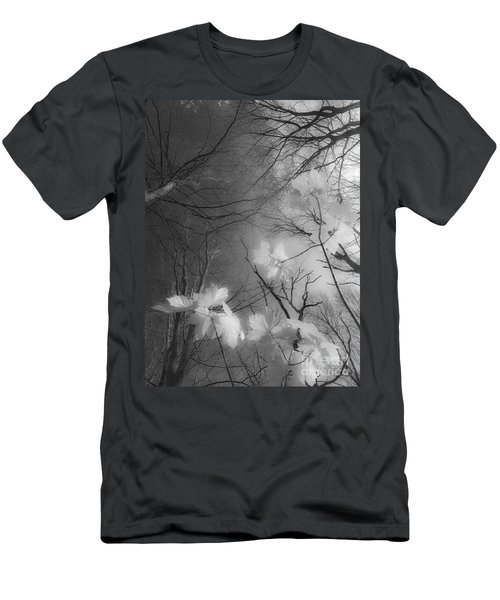 Between Black And White-02 Men's T-Shirt (Athletic Fit)
