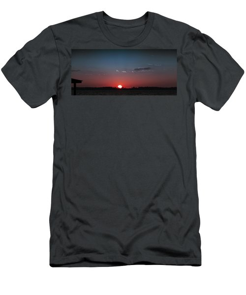 Between The Light And The Dark Men's T-Shirt (Athletic Fit)