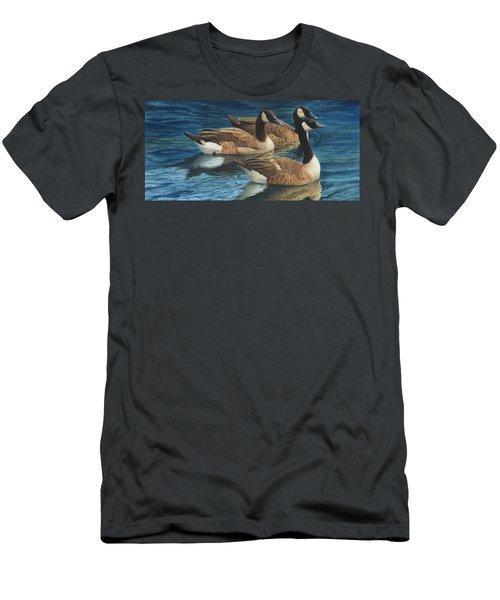 Biding Time Men's T-Shirt (Athletic Fit)