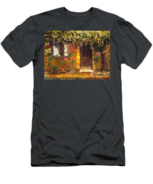 Bienvenue A' Provence Men's T-Shirt (Athletic Fit)