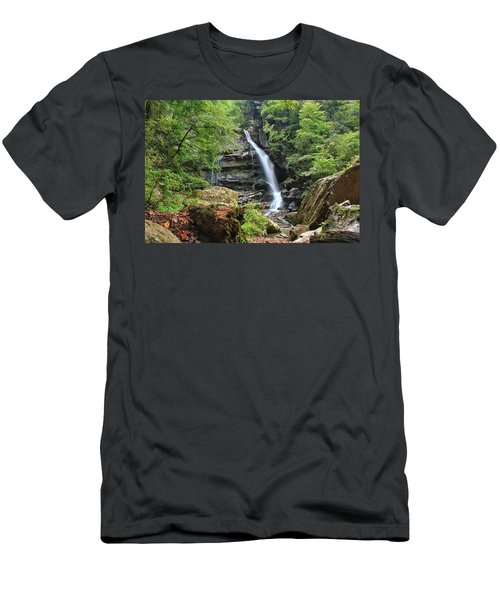 Big Bradley Falls Men's T-Shirt (Athletic Fit)