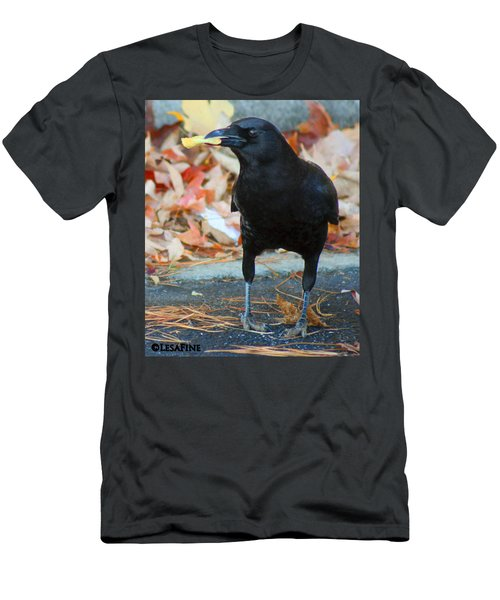 Big Daddy Crow Leaf Picker Men's T-Shirt (Athletic Fit)