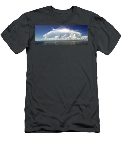 Big Thunderstorm Over The Bay Men's T-Shirt (Athletic Fit)