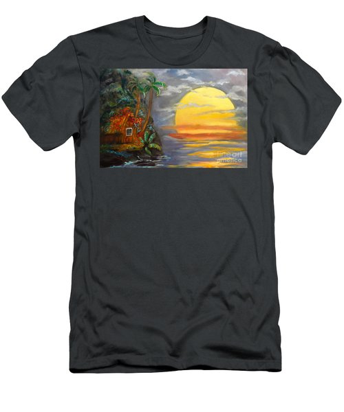 Magical Sunser Jenny Lee Discount Men's T-Shirt (Athletic Fit)