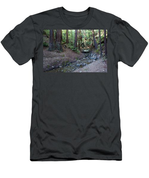 Bigfoot On Mt. Tamalpais Men's T-Shirt (Athletic Fit)