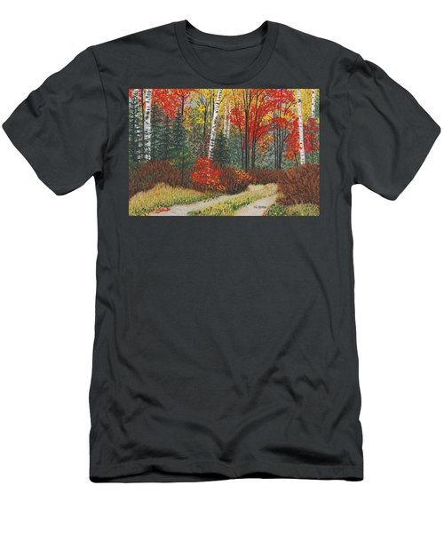 Birch Trail Men's T-Shirt (Athletic Fit)