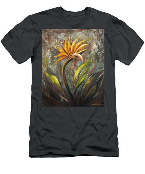 Bird Of Paradise 63 Men's T-Shirt (Athletic Fit)