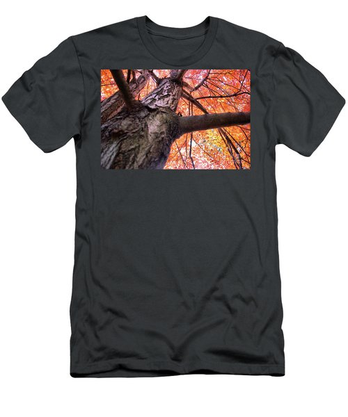 Men's T-Shirt (Slim Fit) featuring the photograph Bird's Pov ...lol by John S