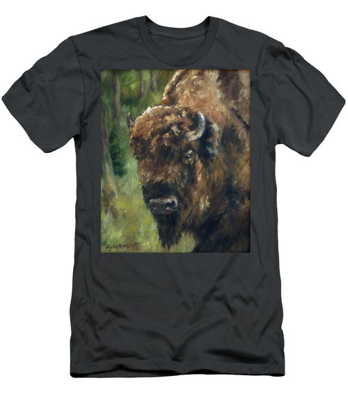 Bison Study - Zero Three Men's T-Shirt (Athletic Fit)