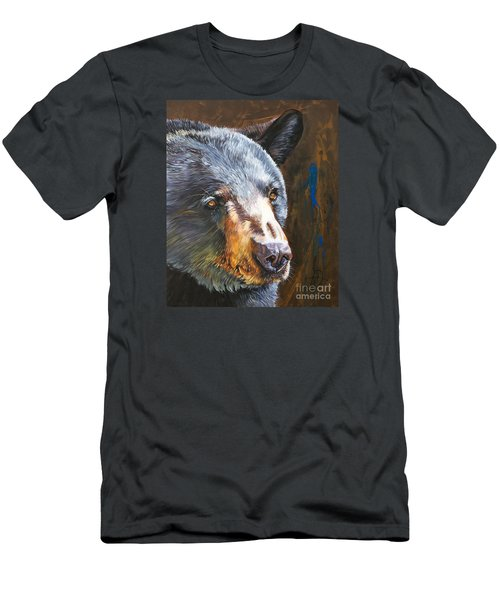 Black Bear The Messenger Men's T-Shirt (Athletic Fit)