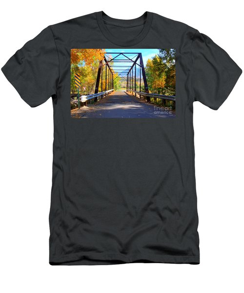 Black Bridge Men's T-Shirt (Athletic Fit)