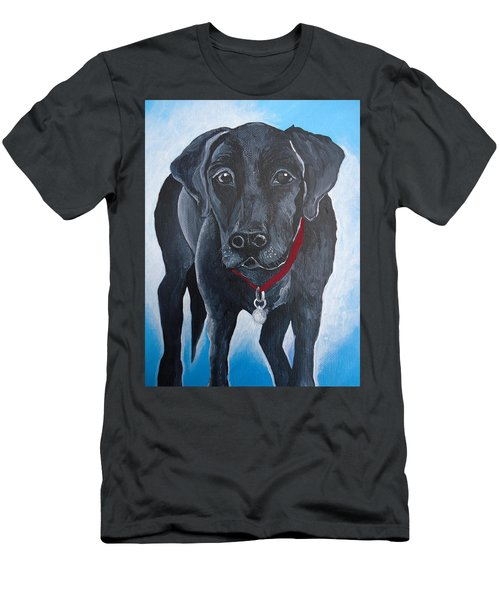 Black Lab Men's T-Shirt (Slim Fit)