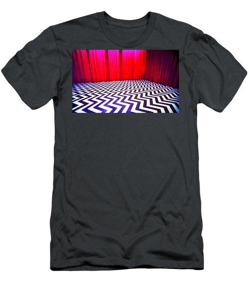 Black Lodge Blues Men's T-Shirt (Athletic Fit)