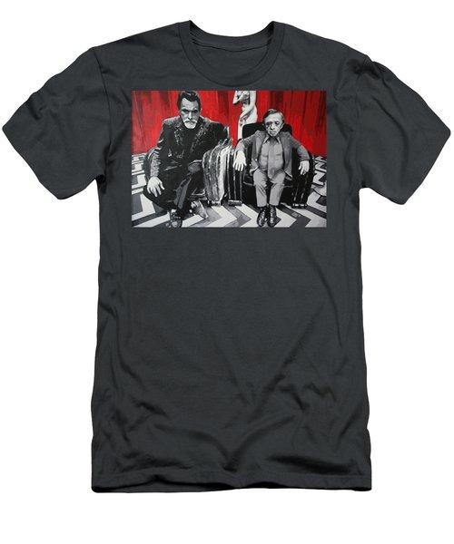 Black Lodge Men's T-Shirt (Athletic Fit)