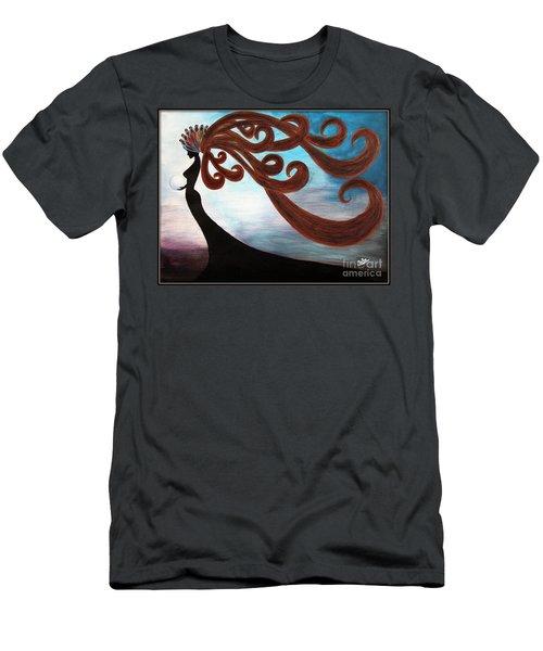 Black Magic Woman Men's T-Shirt (Athletic Fit)