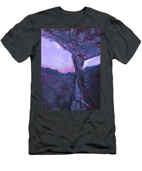 Black Tree Men's T-Shirt (Athletic Fit)