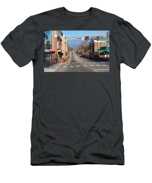 Blacksburg Virginia Men's T-Shirt (Athletic Fit)