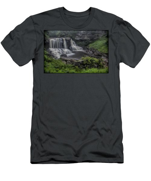 Blackwater Watercolor Men's T-Shirt (Athletic Fit)