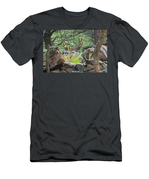 Blending In Men's T-Shirt (Athletic Fit)
