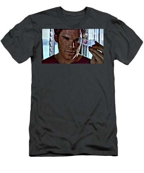 Blood Slide Dexter Men's T-Shirt (Athletic Fit)