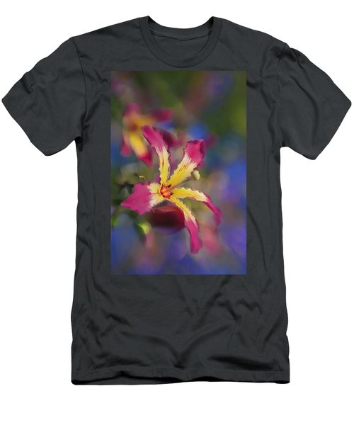 Bloomin Hong Kong Orchid Men's T-Shirt (Athletic Fit)