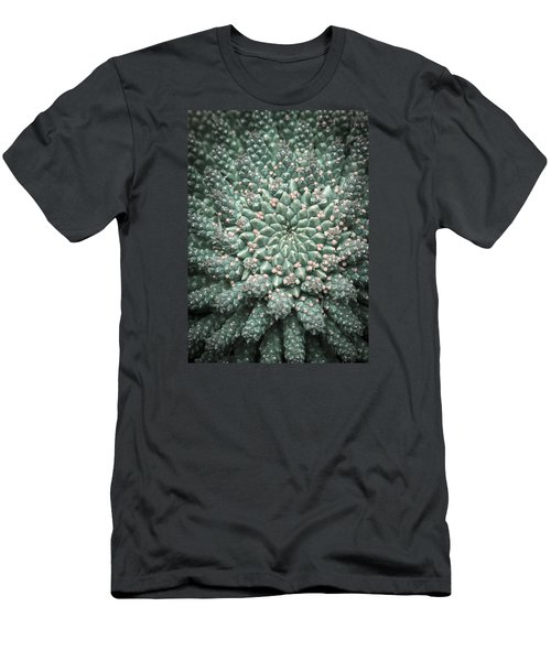 Blooming Geometry Men's T-Shirt (Athletic Fit)