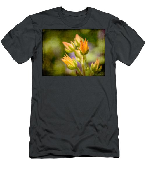 Blooming Succulents I Men's T-Shirt (Athletic Fit)