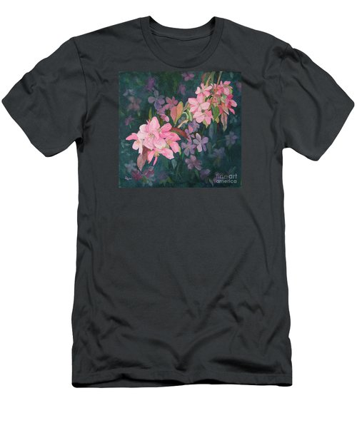 Blossoms For Sally Men's T-Shirt (Athletic Fit)