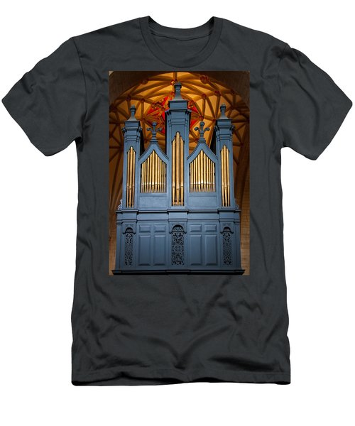 Blue And Gold Music Men's T-Shirt (Athletic Fit)