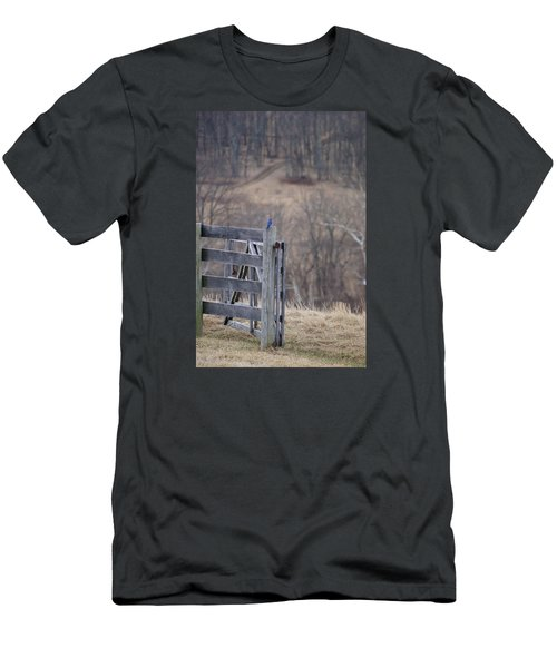 Blue Bird Men's T-Shirt (Athletic Fit)