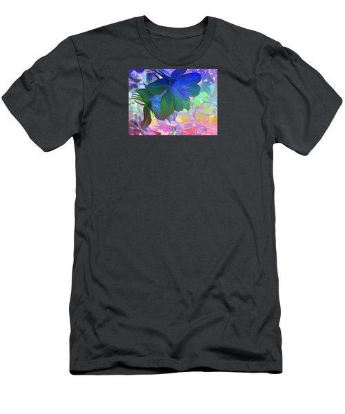 Blue Columbine Men's T-Shirt (Athletic Fit)