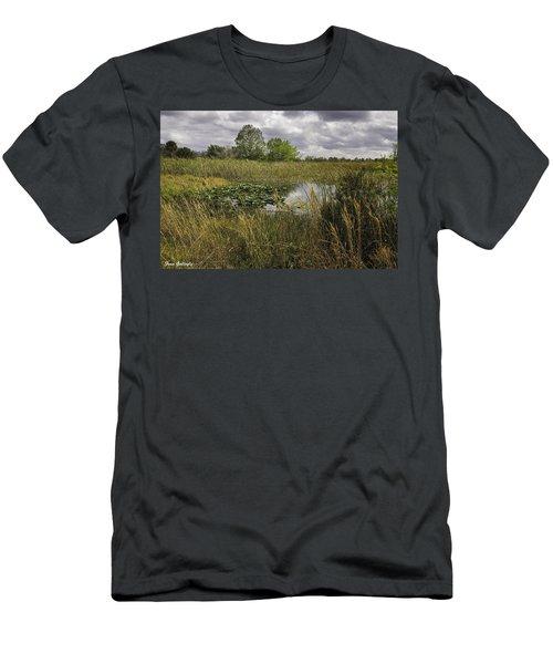 Blue Cypress Wetlands Men's T-Shirt (Athletic Fit)
