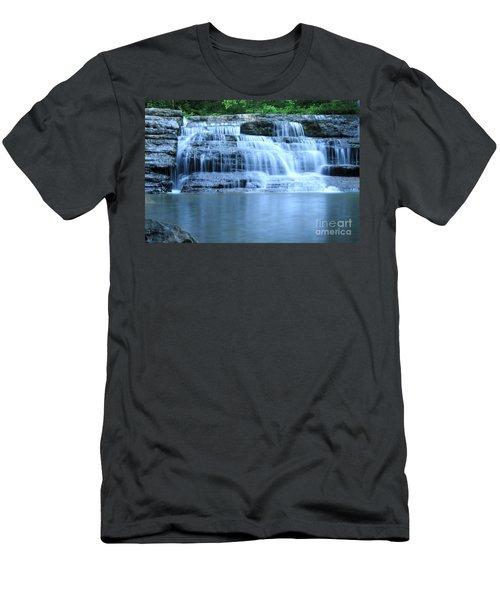 Blue Falls Men's T-Shirt (Athletic Fit)