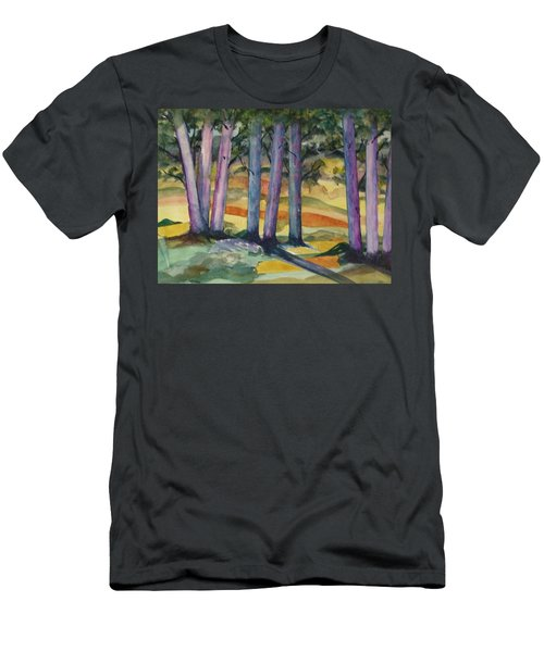 Blue Grove Men's T-Shirt (Athletic Fit)