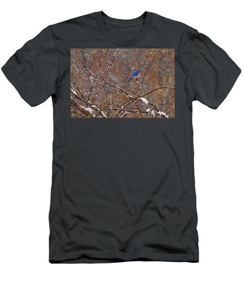Men's T-Shirt (Slim Fit) featuring the photograph Blue Norther by Gary Holmes