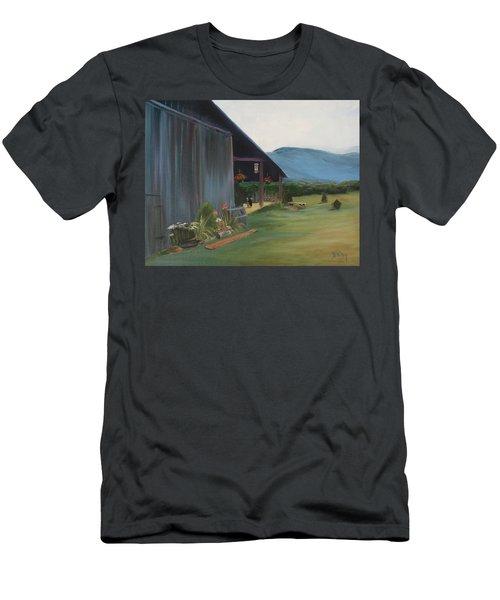 Blue Ridge Vineyard Men's T-Shirt (Athletic Fit)