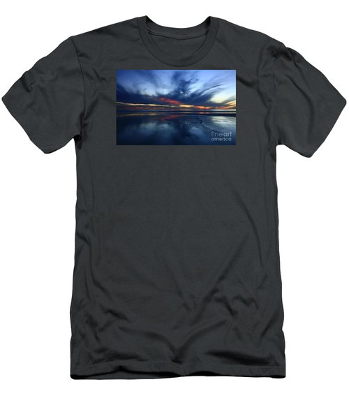 Men's T-Shirt (Athletic Fit) featuring the photograph Cardiff Symphony   by John F Tsumas