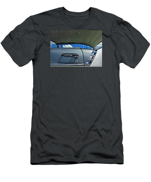 Men's T-Shirt (Slim Fit) featuring the photograph 1956 Chevy Bel Air by Linda Bianic