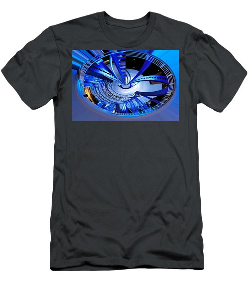 Blue Steel Men's T-Shirt (Athletic Fit)