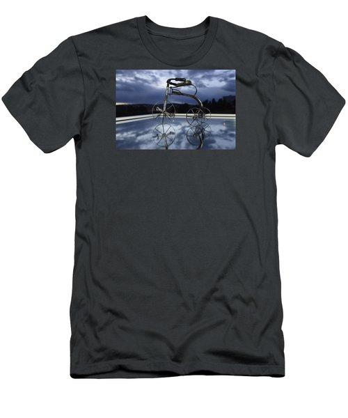 Blue Visions 5 Men's T-Shirt (Slim Fit) by Teo SITCHET-KANDA