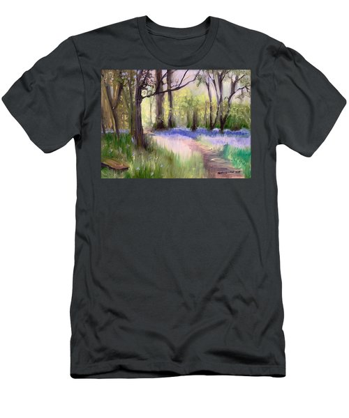 Bluebells At Dusk Men's T-Shirt (Athletic Fit)