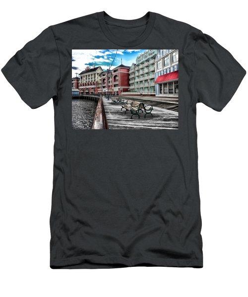 Boardwalk Early Morning Men's T-Shirt (Athletic Fit)