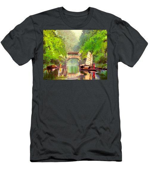 Boatmen Men's T-Shirt (Athletic Fit)