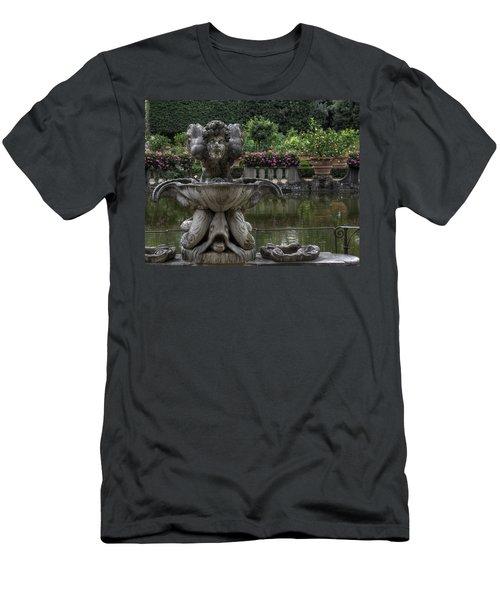 Boboli Fountain Men's T-Shirt (Athletic Fit)